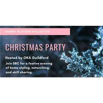 Surrey Blogger Collective Christmas Party