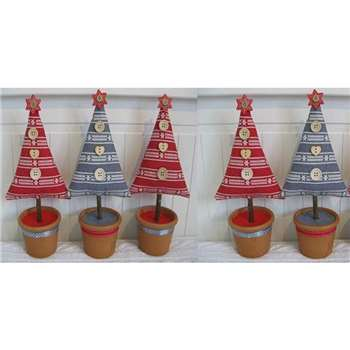 Make a Scandi Christmas Tree with Claire Salmon via Zoom