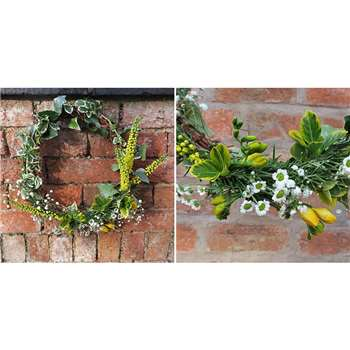 Foraged Spring Wreath