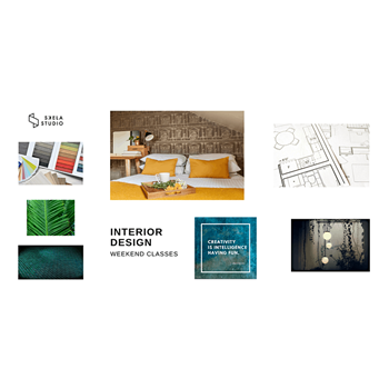 Weekend Interior design masterclass, 16th & 30th of January 2021