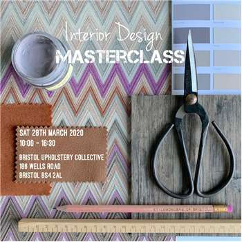 Interior Design Masterclass - Stylemongers of Bristol